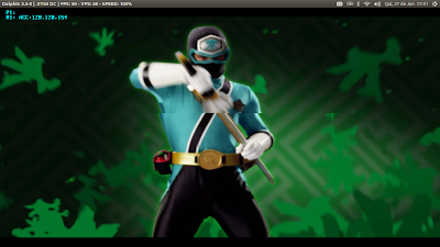 Power Rangers Samurai Linux