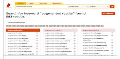 công cụ keywordtool.io