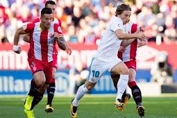 Cuplikan Gol Girona vs Real Madrid 2-1