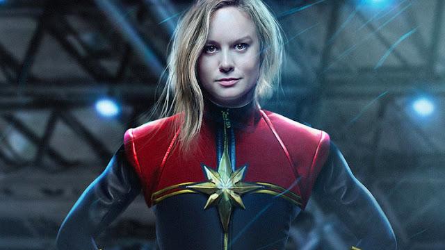 Capitã Marvel Brie Larson
