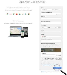 Cara Buat Akun Gmail