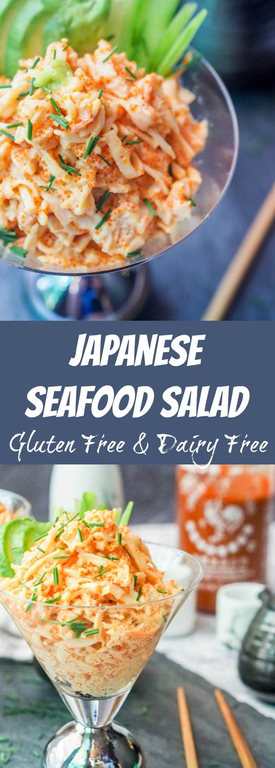 Seafood Salad with Asian Flavors
