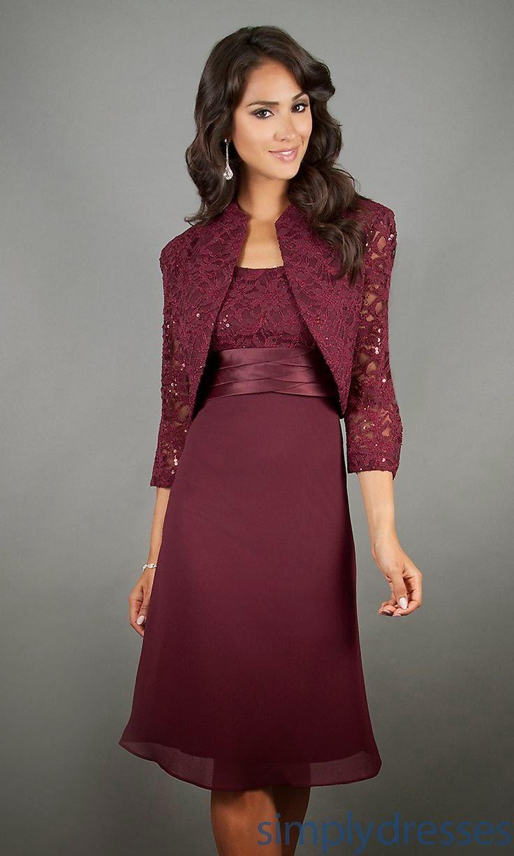 Jacket Dresses For Weddings