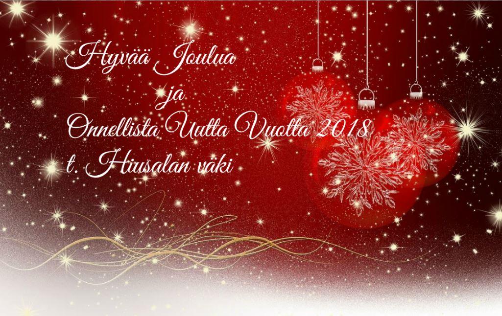 joulu 2018 blogi Salon seudun ammattiopiston Hiusalan blogi: Hyvää Joulua ja  joulu 2018 blogi