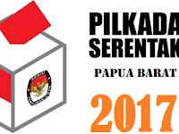 KPU Papua Barat Tetapkan Nomor Urut Paslon Gubernur Wakil Gubernur
