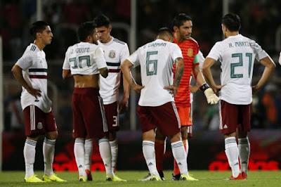 mexico vuelve a perder contra argentina