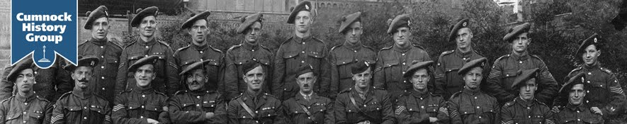 WW1 Soldiers from Cumnock