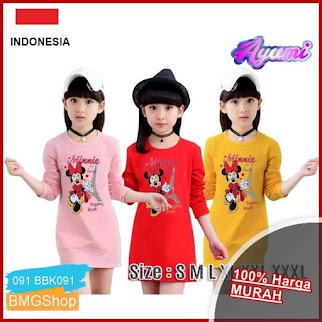 BBK091 Dress Rere Blus Anak Perempuan BMGShop
