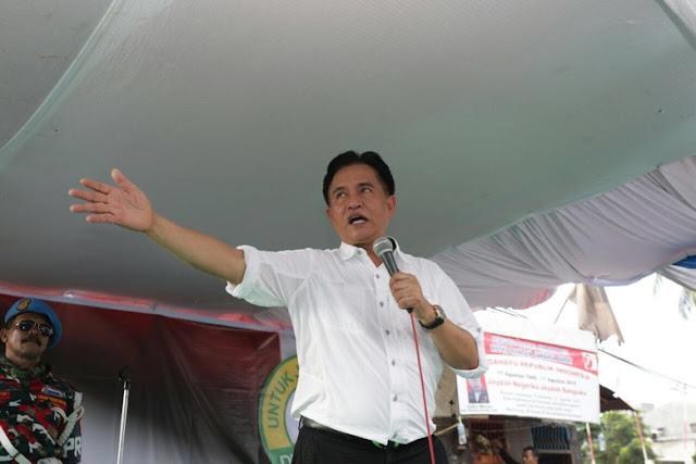 Manuver Yusril: Menyindir Jokowi, Menyambut Gatot