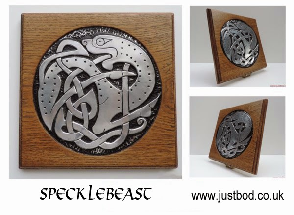 Specklebeast Celtic design wallart