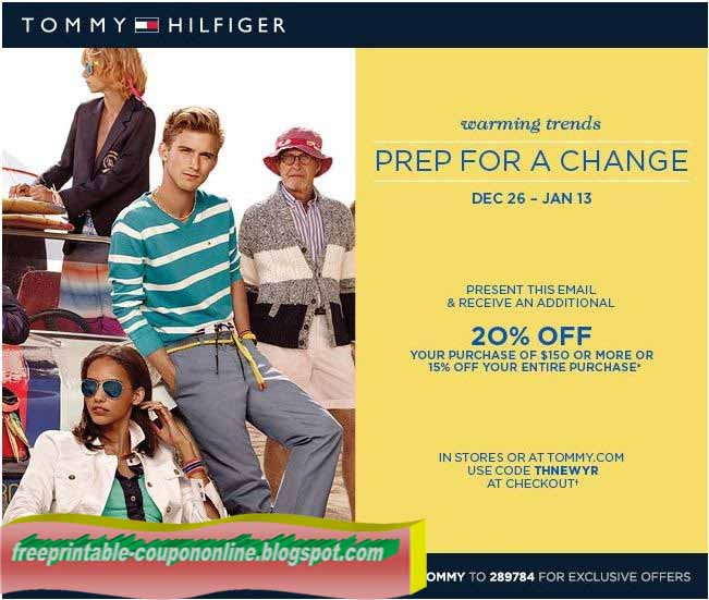 Tommy hilfiger coupon code
