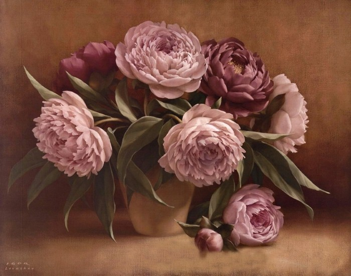 Рисунки цветов. Игорь Левашов 9