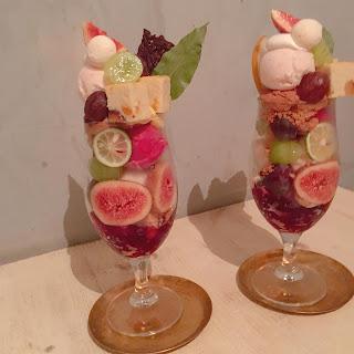 広島の超人気カフェ kipfel さんでイチジクパフェ