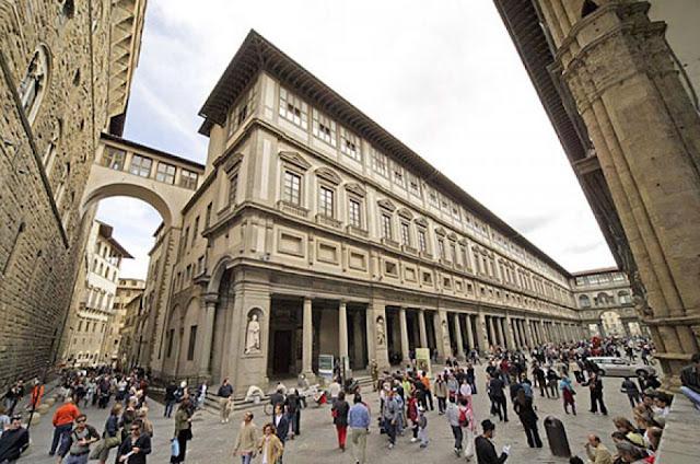 Ingressos para a visita com áudio guia a Galeria Uffizi em Florença