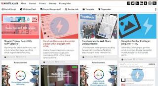 blog kompi ajaib tempat template gratis