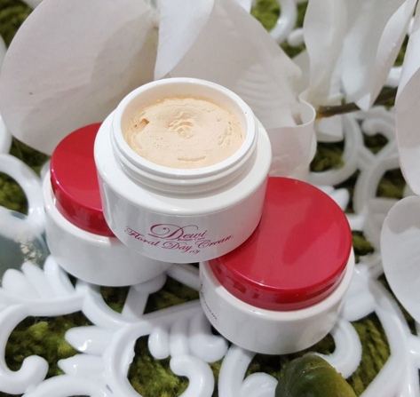 dewi beauty care floral day cream