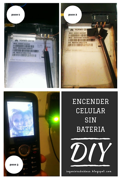 Encender Celular Sin Batería