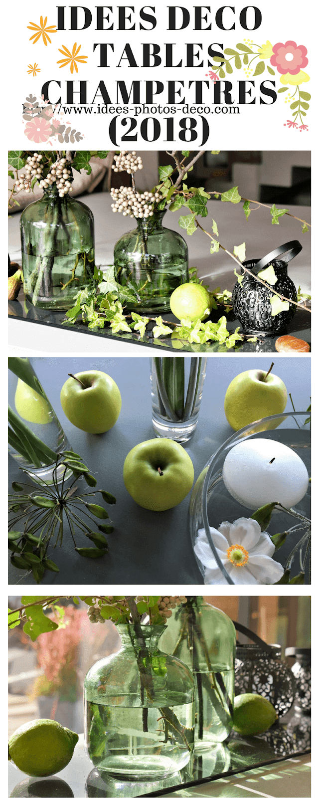 idee deco table champetre pas cher