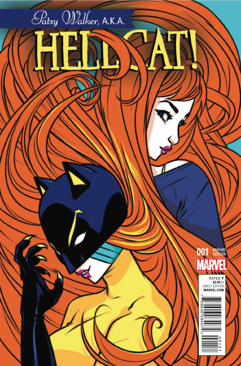 TORONTO CAT WOMAN: Patsy Walker, A.K.A. Hellcat