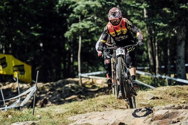 2016 Mont Sainte Anne UCI World Cup Downhill: Claudio Caluori's Track Preview