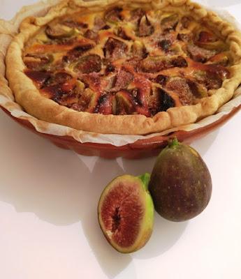 Recette d'automne tarte aux figues