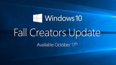 مايكروسوفت تعلن عن توفر تحديث ويندوز 10 الجديد Fall Creators Update