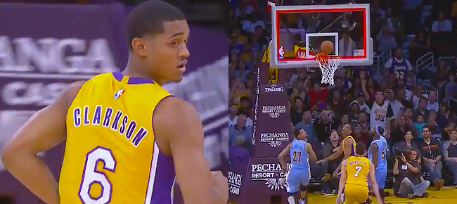 Jordan Clarkson's Game Highlights vs Nuggets (VIDEO)