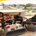 See photos as Dbanj and 2Face hangout on baecation alongside wives Lineo and Annie, in Accra, Ghana