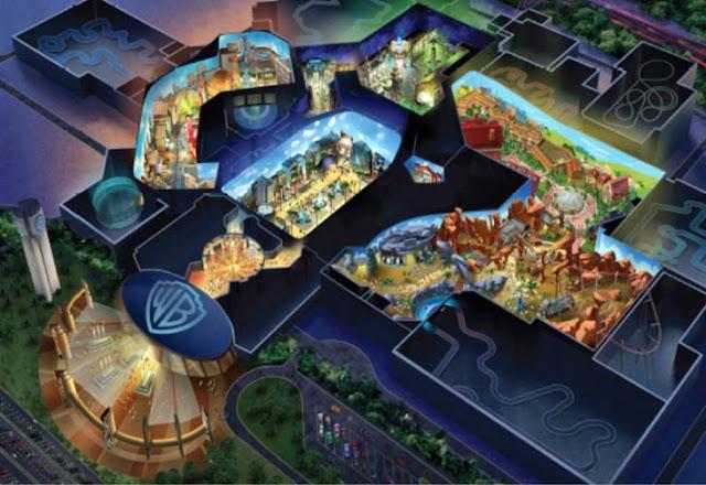 Abrirán un parque temático de Batman; se basará en Ciudad Gótica