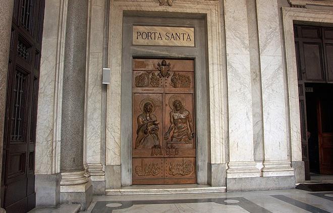 San giacomo in augusta roma chiusura porta santa - Porta di roma apertura ...