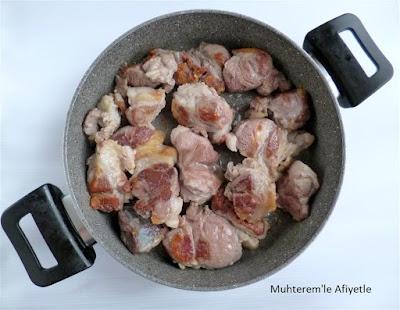kuzu eti pişirme