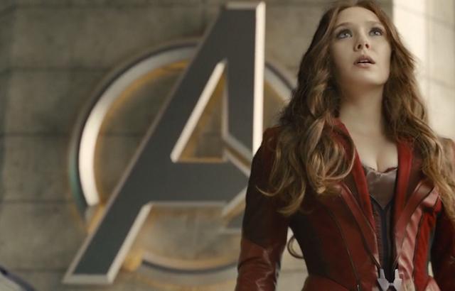 Avengers - Elizabeth-Olsen-Sexy-hot