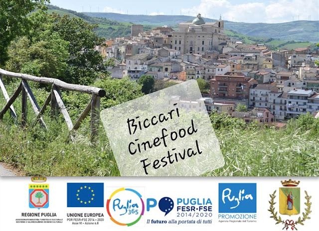 Attori, blogger e chef stellati per il Biccari Cinefood Festival
