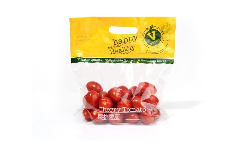 עיצוב שקית לעגבניות שרי, עיצוב אריזה, עיצוב מארזֿ
