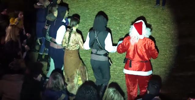 Ποντιακά φαγητά και χοροί στο Χριστουγεννιάτικο χωριό του κόσμου στην Κατερίνη
