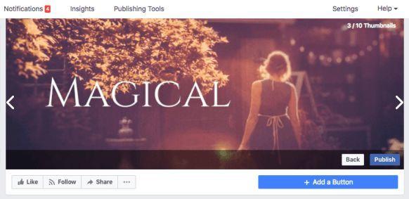 Cara Mengganti Cover Profil Facebook dengan Video