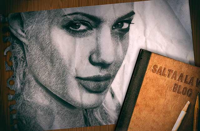 Composicion-con-Photoshop-Angelina-Jolie-a-Lapiz-Resultado-Final-by-Saltaalavista-Blog