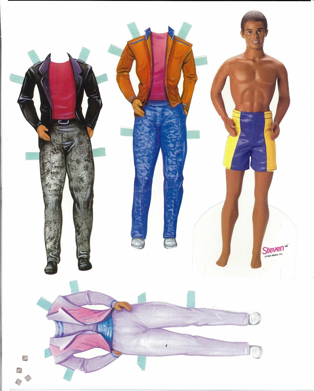 Barbie paper dolls