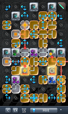 Solution for Laser Box - Puzzle (Extra) Level 15