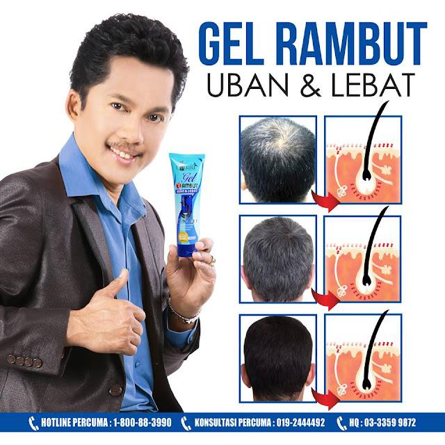 Gel Rambut Uban & Lebat V'asia