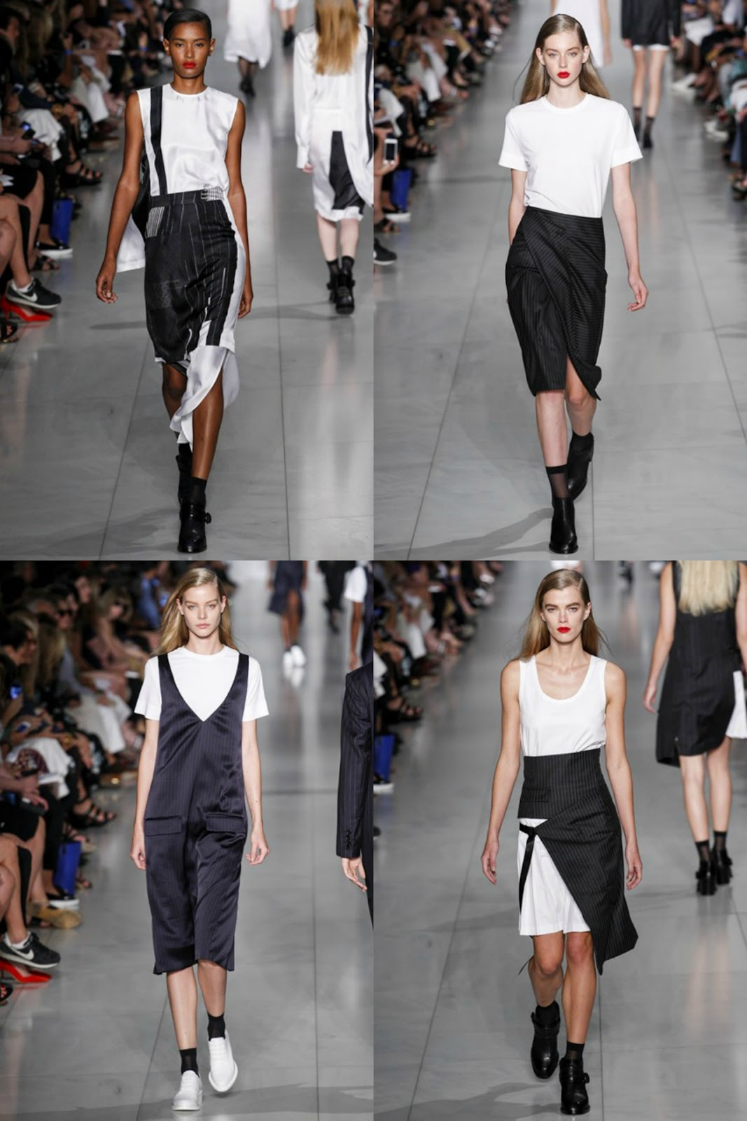 Eniwhere Fashion - B&W - Donna Karan SS2016