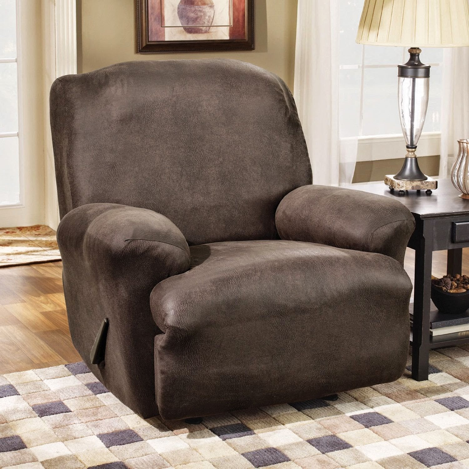 Dual Reclining Sofa Slipcover Best Manufacturers Uk Cheap Recliner Sofas For Sale Sure Fit