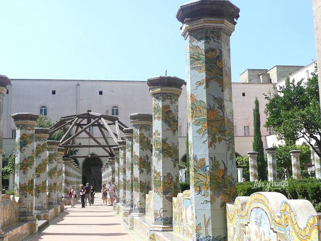 Imprescindible Nápoles Santa Chiara