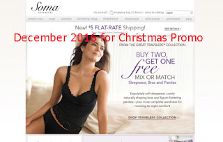 free Soma Intimates coupons december 2016
