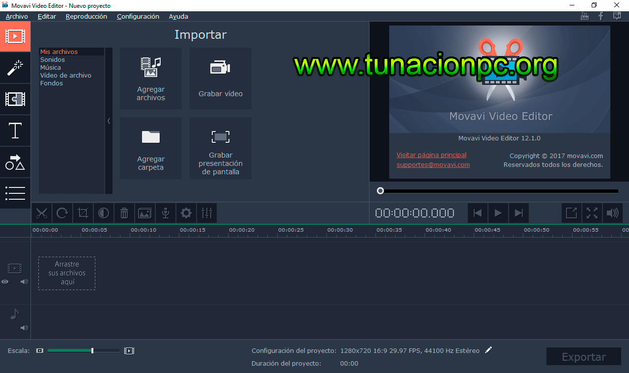 Descargar Movavi Video Editor