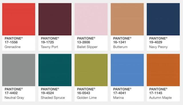 colori pantone 2017/2018