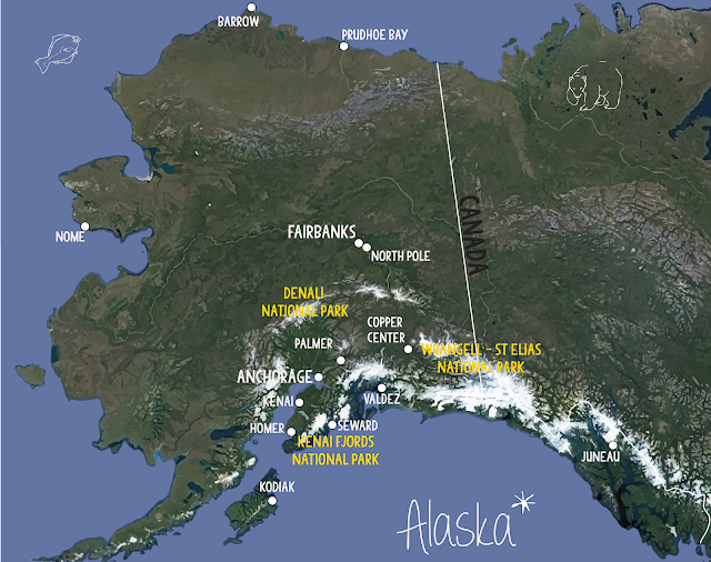 Notre voyage en Alaska, été 2016 - Far West Coast