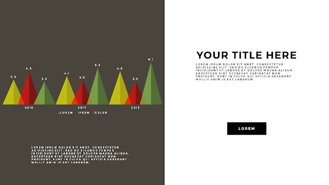 Free Infographic PowerPoint Template with Editable Data chart Slide 12