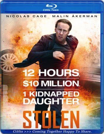 Stolen (2012) Dual Audio Hindi 480p BluRay 300MB