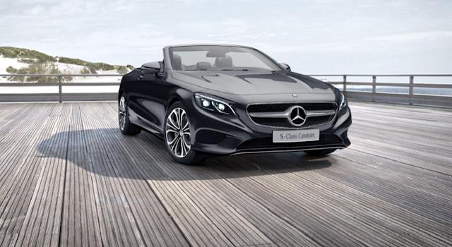 Mercedes S500 Cabriolet 2017 là chiếc xe mui trần 2 cửa có thiết kế từ ngoại thất đến nội thất đậm chất thể thao